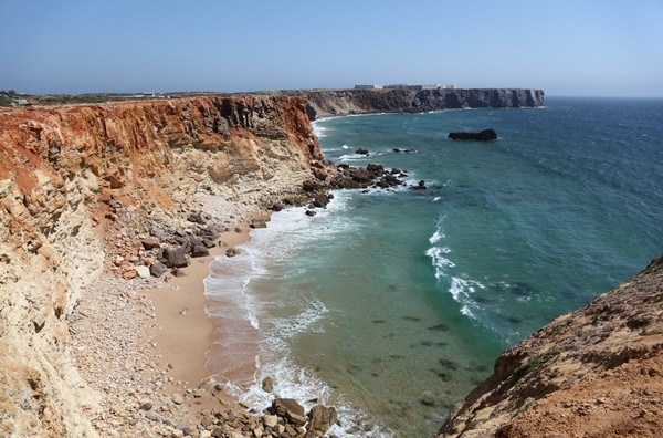 Algarve, Cliffs at the Atlantic Coast of Algarve