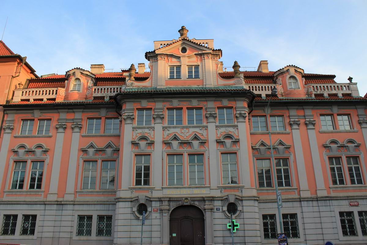 Faust House Prague
