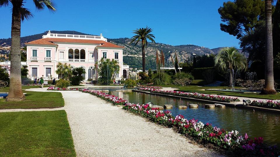 French luxury villas