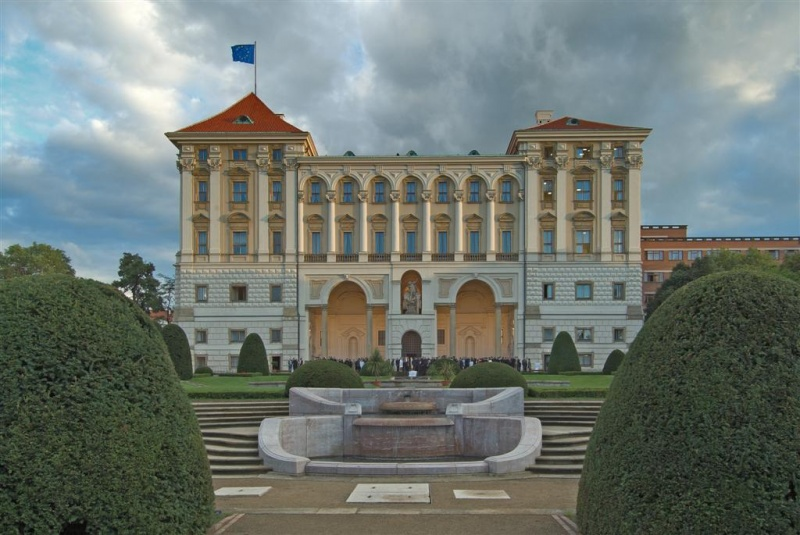 Prague Cernin Palace