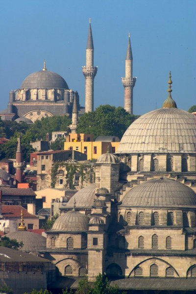 Mosques and Minarets in Istanbul