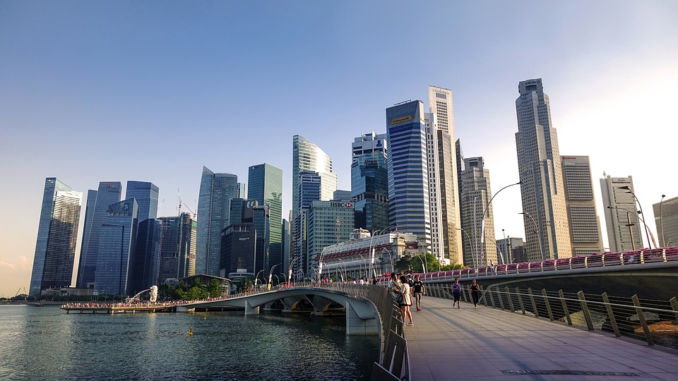 singapore river jubilee bridge